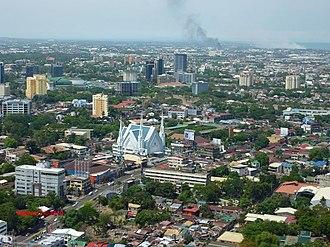 Singhapala - Aerial view of Cebu City North district.