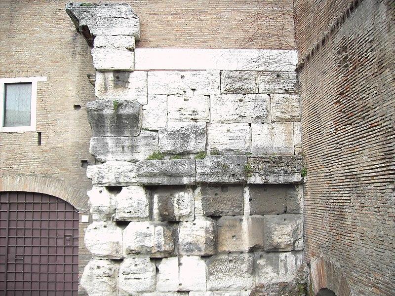 File:Celio - tempio del divo Claudio - resti ai santi Giovanni e Paolo 1774.JPG