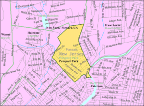 Census Bureau map of Prospect Park, New Jersey.png