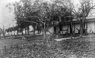 Daniel Freeman (Los Angeles County) - Freeman adobe home in 1890