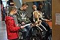 Centrum Nauki Kopernik Pedałujący szkielet.jpg