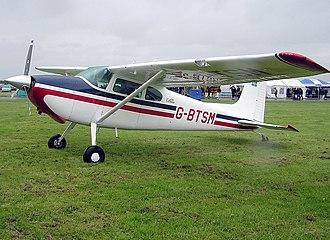 Cessna 180 - Image: Cessna.180a.g btsm.arp