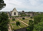 Château d'Angers, View of the garden and chapel 20170611 1.jpg