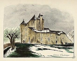 Dognen - The château of Espalungue
