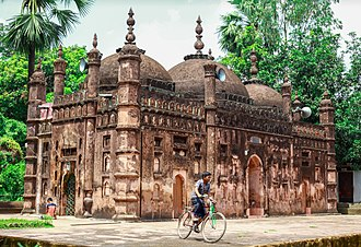 Feni District - Image: Chandgaji Bhuiyan Mosque 12