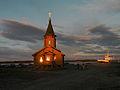 Chapel in Rabotcheostrovsk.jpg