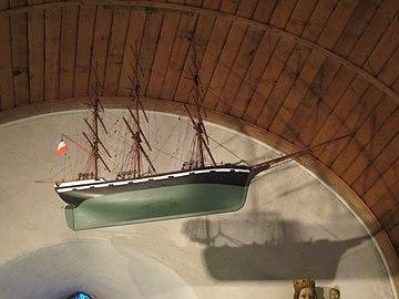 Chapelle des marins de Gonneville - ex-voto (2).JPG