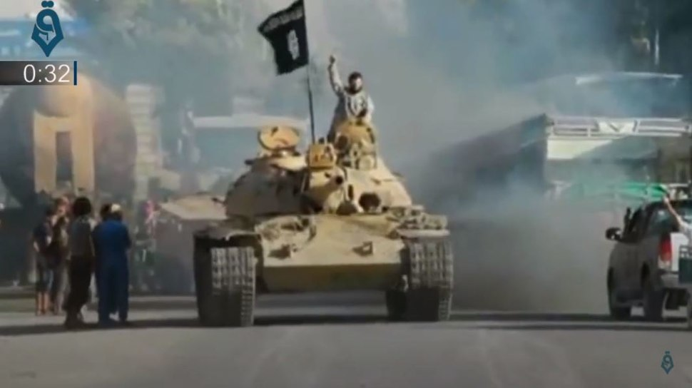 Char Etat islamique Raqqa