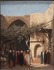 L'Entrée du bazar à Damas