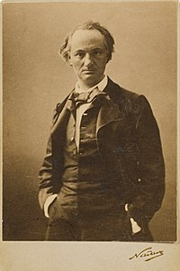 Charles Baudelaire, photograph taken by Nadar.