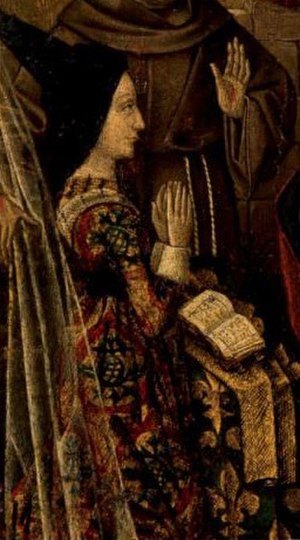 Louis XI of France - Charlotte of Savoy.