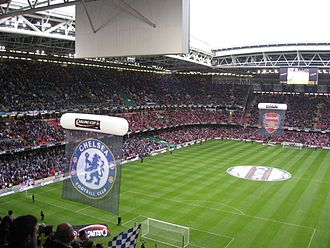 EFL Cup - Pre-match presentation at the 2007 final between Chelsea and Arsenal at the Millennium Stadium in Cardiff