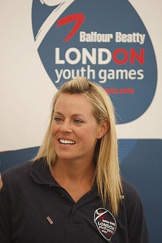 Chemmy Alcott - Alcott at London Youth Games in 2009