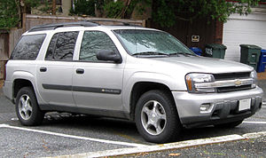 2009 Taconic State Parkway crash - 2004 Chevrolet TrailBlazer