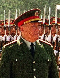 Chi Haotian former Vice Chairman of the Central Military Commission of China
