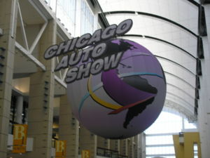 The title for the Chicago Auto Show, 2007, hel...