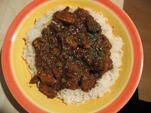 Cookbookchicken vindaloo wikibooks open books for an open world chicken vindaloo the finished dish category indian recipes forumfinder Image collections