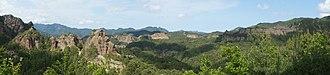 Chilbosan (North Hamgyong) - Image: Chilbo Mountains (14582302783)