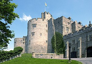 Chirk Castle, Main Approach - geograph.org.uk - 868262.jpg