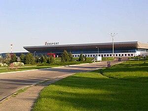 Chișinău International Airport - Image: Chisinau Aeroport