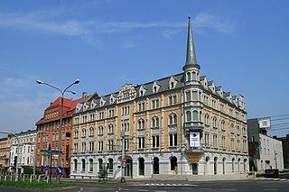 Chorzów Place in Silesian Voivodeship, Poland