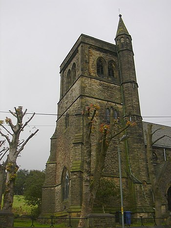 English: Christ Church Tower