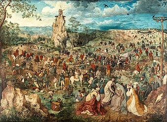 Christ carrying the Cross, by Pieter Bruegel (I).jpg