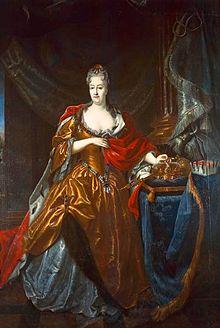 Christiane Eberhardine von Brandenburg-Bayreuth, Ehefrau (Quelle: Wikimedia)
