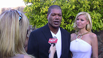 Christopher Judge - Judge with his wife Gianna (right) at the 2011 Saturn Awards