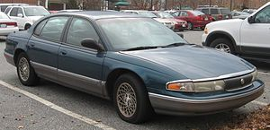 1995-1996 Chrysler New Yorker