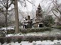 Chrystal Shrine Grotto and Pond Memphis TN Winter Snow 5.jpg