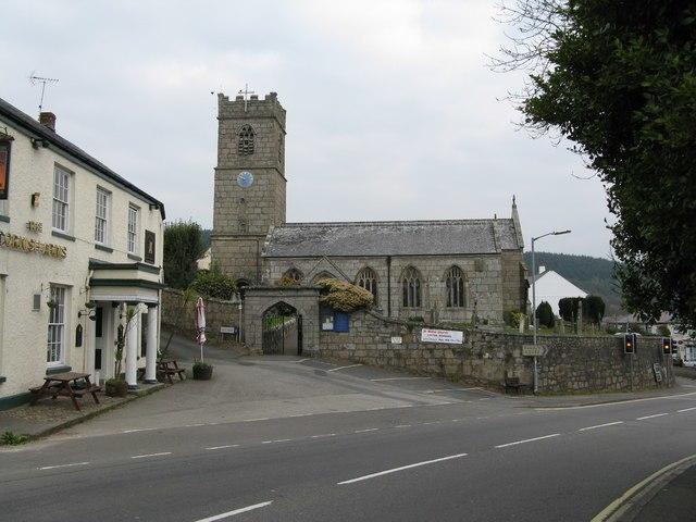 Church of St. Blaise, St. Blazey, Cornwall - geograph.org.uk - 1236202