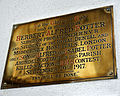 Church of St Mary Hatfield Broad Oak Essex England - Herbert Alfred Potter brass plaque.jpg