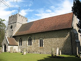 St Mary the Virgin Church, Thurnham Church in Kent, England