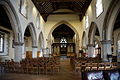 Church of the Holy Cross Felsted Essex England - nave facing east.jpg