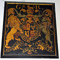 Church of the Holy Cross Great Ponton Lincolnshire England - George III coat of arms.jpg