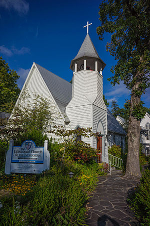 National Register of Historic Places listings in Macon County, North Carolina - Image: Church of the Incarnation, 111 N. 5th St, Highlands, NC