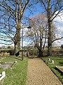 Church yard path at Easton - geograph.org.uk - 1192604.jpg