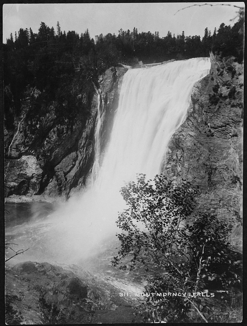 Chute Montmorency vers 1900