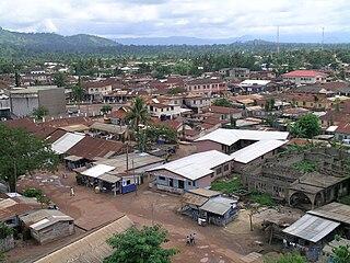 Hohoe Town & District Capital in Volta Region, Ghana