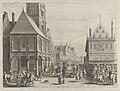 "City magistrates taking leave of Marie de Medici before the town hall, from Caspar Barlaeus, ""Medicea Hospes"" MET DP855435.jpg"