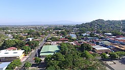 Ciudad Colon Costa Rica april 2016, aerial image.jpg