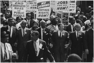Civil rights movement 20th-century U.S. social movement against racism