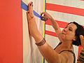Clare Rojas (visual artist) aka Peggy Honeywell (singer), in Room 205, 2012-06-18.jpg