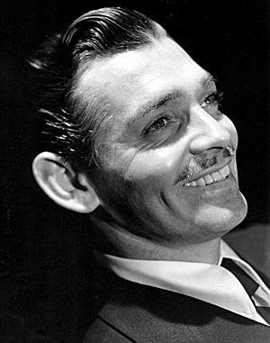 Clark Gable filmography - Clark Gable publicity photo, 1938