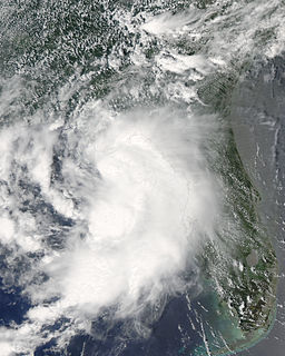 Tropical Storm Claudette (2009) Atlantic tropical storm in 2009