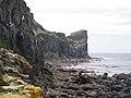 Cliffs at Lunga - geograph.org.uk - 890253.jpg