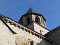 Clocher de l'église abbatiale Saint-Pierre - Beaulieu-sur-Dordogne.JPG