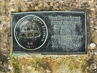 Chew Stoke flood of 1968