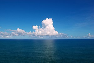 Ocean - Clouds over the Atlantic Ocean